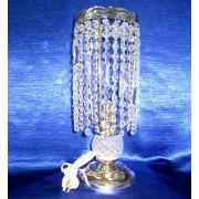 Лампа настольная Анжелика 2 Ёлочка прозрачная