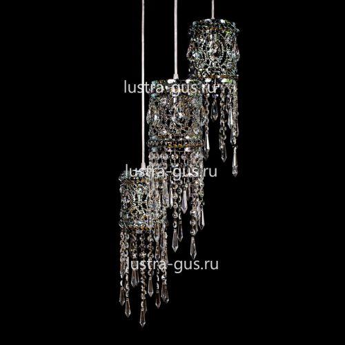 Барная люстра Кольцо №4 Гусь Хрустальный