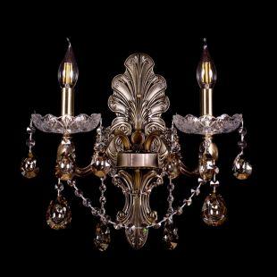 Бра под бронзу Венеция №2 - 2 лампы