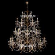 Люстра Венеция №1 26 ламп под бронзу