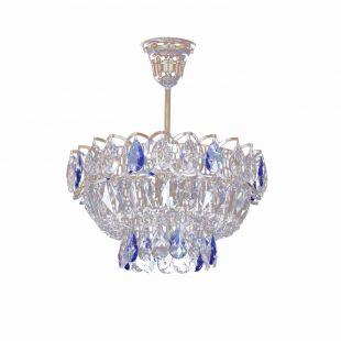 Люстра Катерина 1 лампа подвесная (цветная)