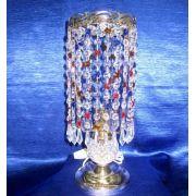 Лампа настольная Анжелика 2 Меланж карандаш цветная