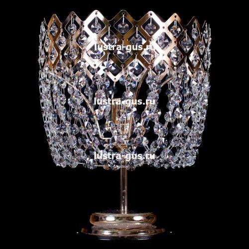 Настольная лампа Корона №2 Гусь Хрустальный
