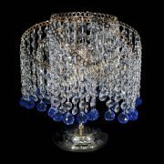 Настольная лампа Космея шар синяя
