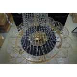 Люстра Лотос с подвесом диаметр 1000 мм высота1500 мм в Воронеже