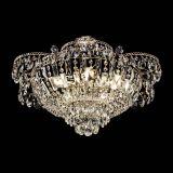 Люстра Камея с подвесом, диаметр 560 мм, золото, Люстры Гусь Хрустальный