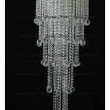 Люстра Капель 5 ламп шар 40 мм длинная в Воронеже