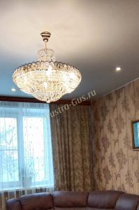 Люстра Кольцо Классика с подвесом отзыв и фото покупателя