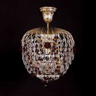 Люстра подвесная Малинка шар чайная