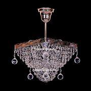 Люстра Квадрат 1 лампа с подвесом