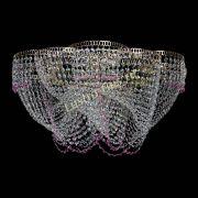 Люстра Есения розовая