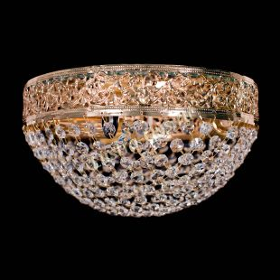 Люстра потолочная для низкого потолка Валенсия №7 - 3 лампы