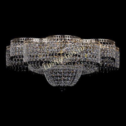 Люстра Камелия №1 черная, диаметр - 600 мм, Люстры Гусь Хрустальный