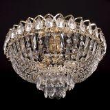 Люстра Катерина, диаметр 450 мм, цвет золото, Люстры Гусь Хрустальный