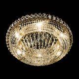 Люстра Кольцо Классика 600 мм, цвет: золото, Люстры Гусь Хрустальный
