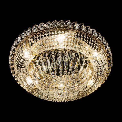 Люстра Кольцо Классика 600 мм, цвет: золото Гусь Хрустальный
