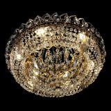 Люстра Кольцо Классика 400 мм, цвет: золото, Люстры Гусь Хрустальный