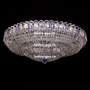 Люстра Кольцо Купол фиолетовая 800 мм