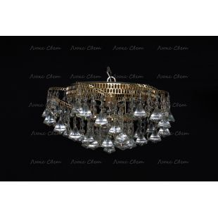 Люстра Космос 1 лампа конус