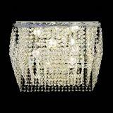 Люстра Квадрат Оптикон, диаметр - 440 мм, цвет - серебро, Люстры Гусь Хрустальный