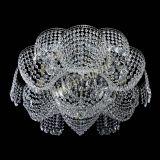 Люстра Лотос Журавлик, диаметр - 700 мм, цвет - серебро, Люстры Гусь Хрустальный