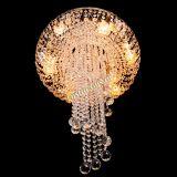 Люстра Анжелика 2 шар 30 мм, Диаметр - 600 мм, Цвет - золото, Люстры Гусь Хрустальный