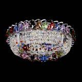 цветная, диаметр - 400, серебро, Люстры Гусь Хрустальный