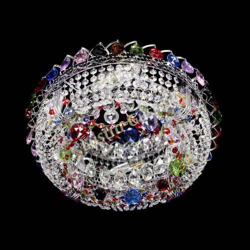 цветная, диаметр - 400, серебро Гусь Хрустальный