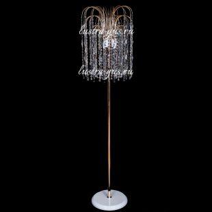 Напольный светильник из хрусталя Торшер №10